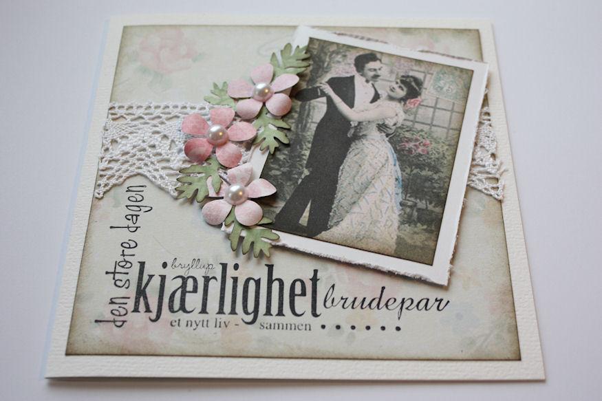 Bryllupskort!